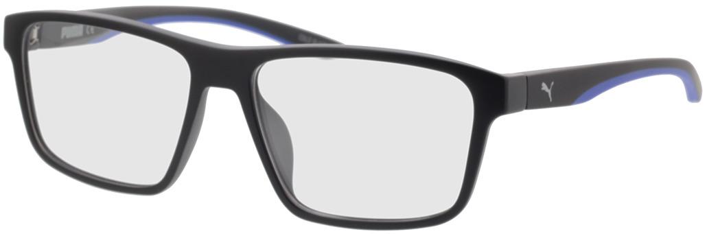 Picture of glasses model Puma PU0209O-007 56-16 in angle 330