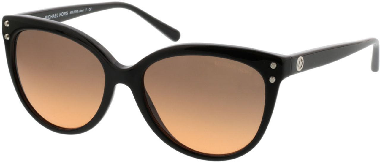 Picture of glasses model Michael Kors Jan MK2045 317711 55-16 in angle 330