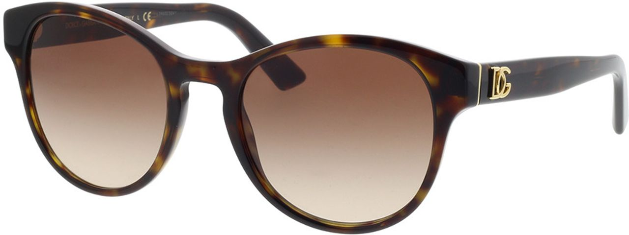 Picture of glasses model Dolce&Gabbana DG4376 502/13 52-20 in angle 330