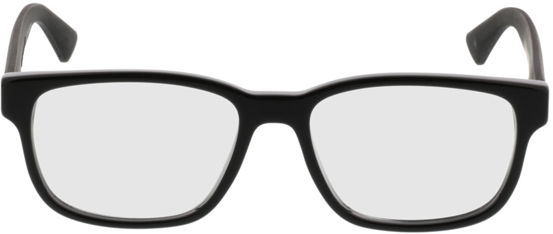 Picture of glasses model Gucci GG0011O-001 53-17 in angle 0