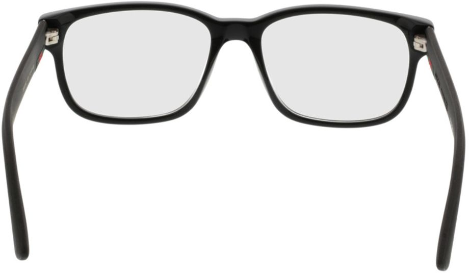 Picture of glasses model Gucci GG0011O-001 53-17 in angle 180