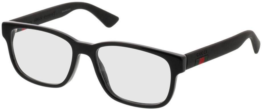 Picture of glasses model Gucci GG0011O-001 53-17 in angle 330