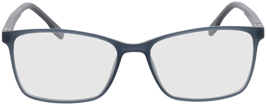 Picture of glasses model Pecos-hellblau-transparent in angle 0