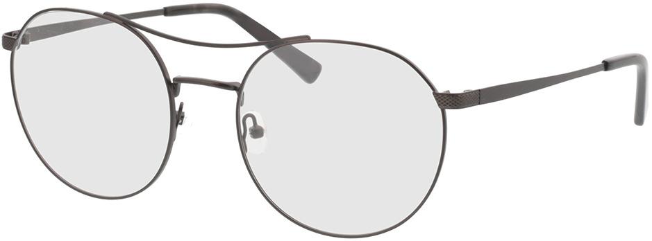 Picture of glasses model Leto antraciet/grijs havana in angle 330