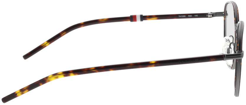 Picture of glasses model Tommy Hilfiger TH 1686 R80 48-21 in angle 90