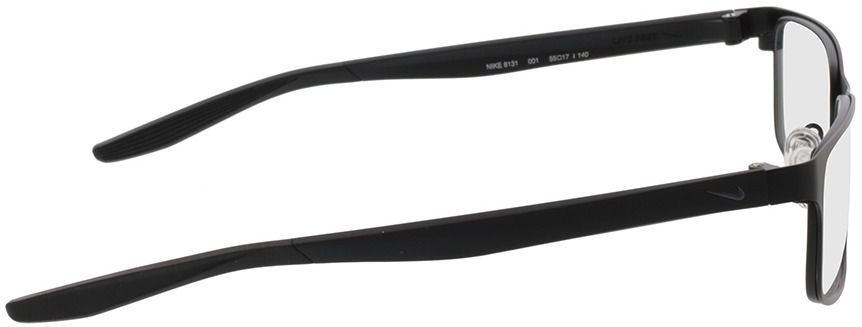 Picture of glasses model Nike 8131 001 55-17 in angle 90