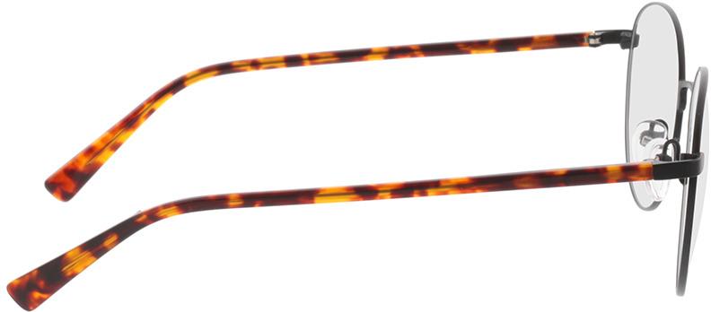 Picture of glasses model Kronos-preto/Havanna in angle 90