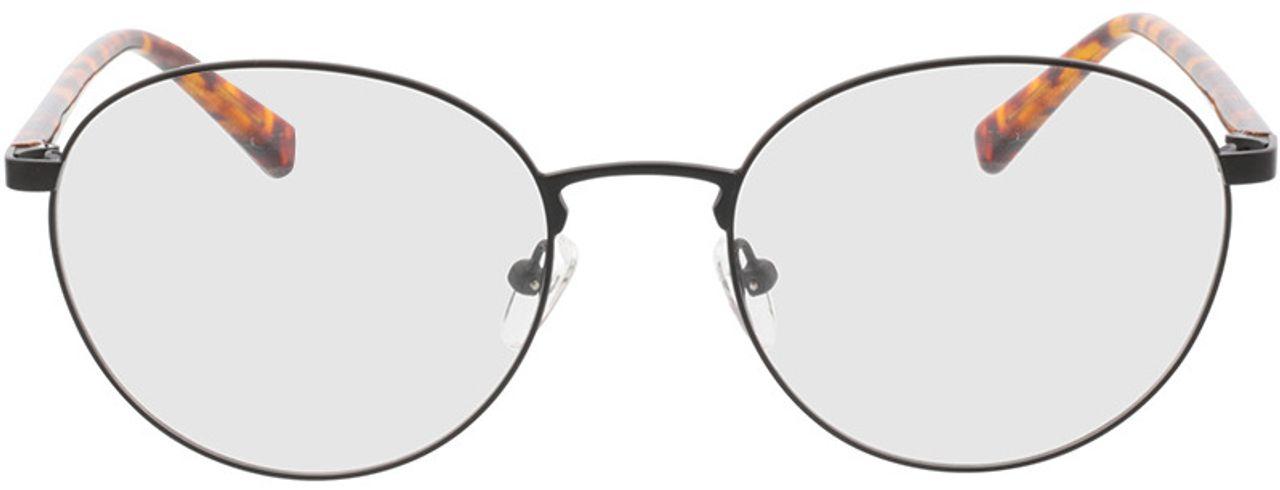Picture of glasses model Kronos-schwarz/havana in angle 0