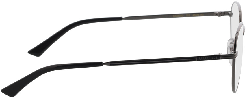 Picture of glasses model Gucci GG0835O-002 48-20 in angle 90