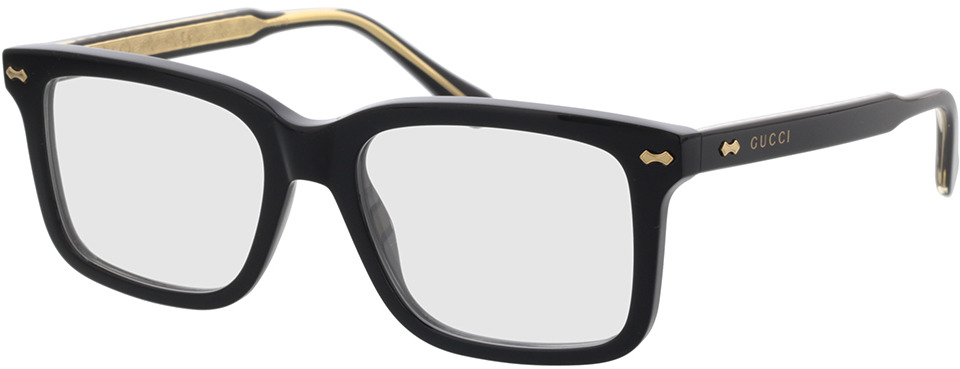 Picture of glasses model Gucci GG0914O-001 54-18 in angle 330