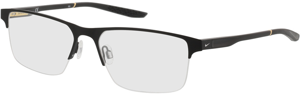 Picture of glasses model Nike NIKE 8045 002 57-17 in angle 330