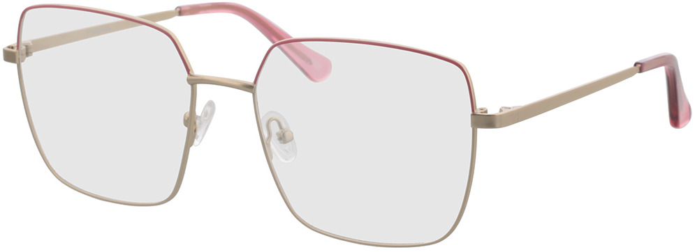 Picture of glasses model Primavera-gold/pink in angle 330