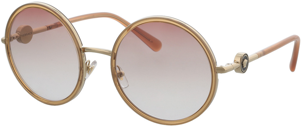 Picture of glasses model Versace VE2229 12520P 56 in angle 330