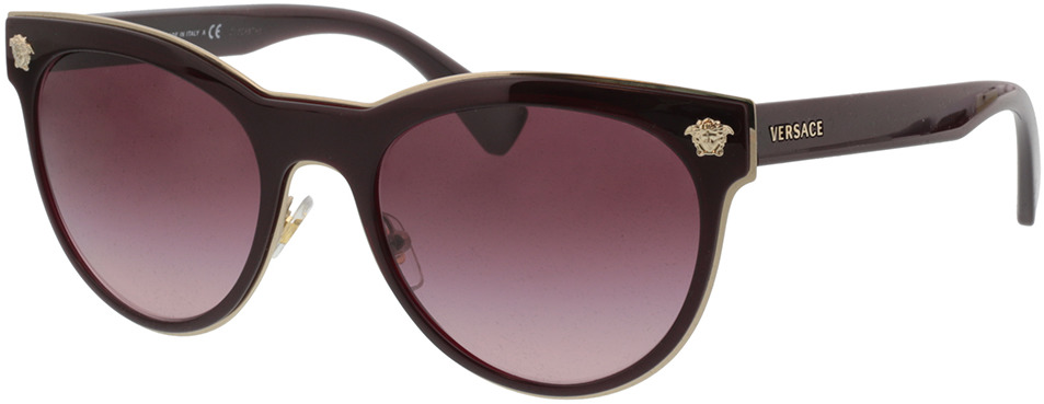 Picture of glasses model Versace Medusa Charm VE2198 12528H 54-20 in angle 330