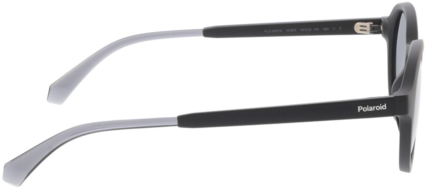 Picture of glasses model Polaroid PLD 2097/S 003 50-22 in angle 90
