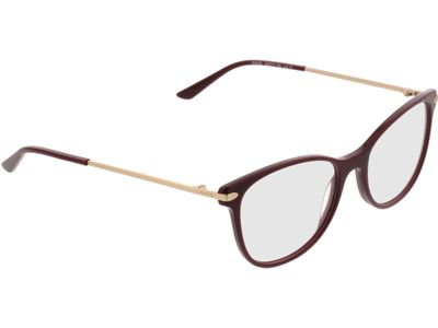 Brille Comma, 70045 71 weinrot 53-17