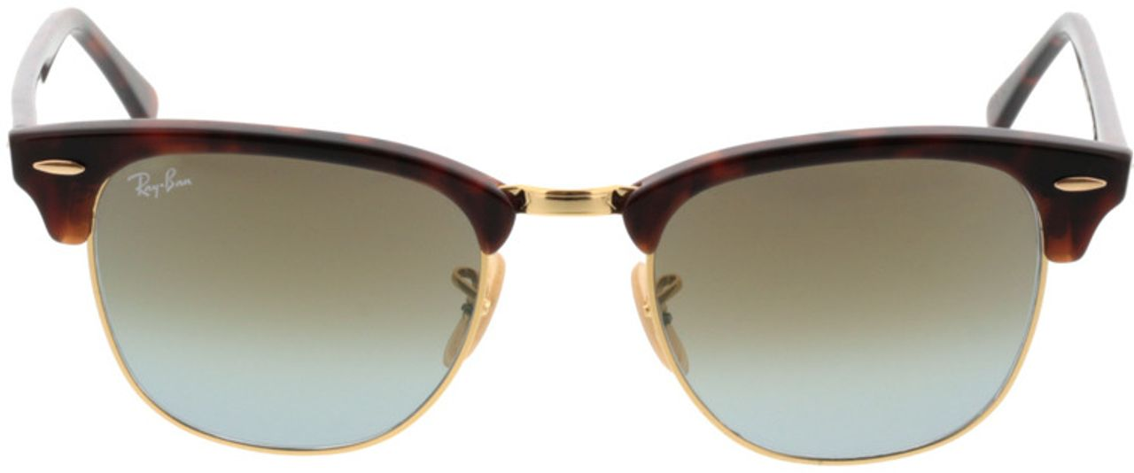 Picture of glasses model Ray-Ban Clubmaster RB3016 990/9J 51-21 in angle 0