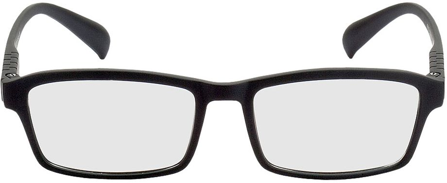 Picture of glasses model Groningen black in angle 0