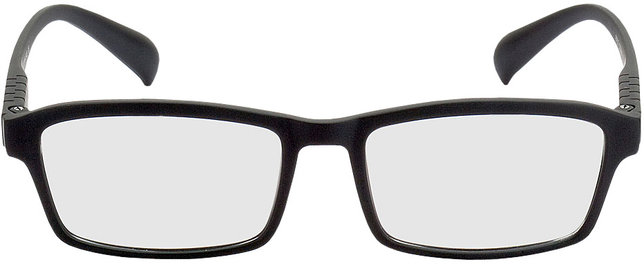 Picture of glasses model Groningen preto in angle 0