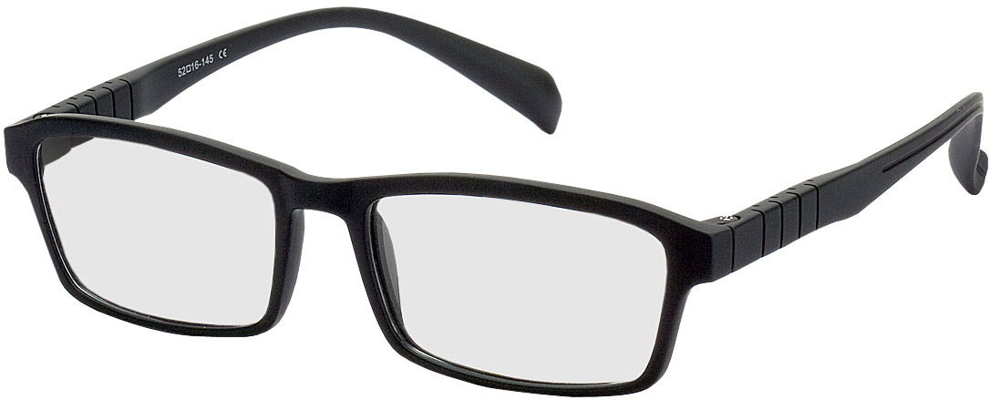 Picture of glasses model Groningen preto in angle 330