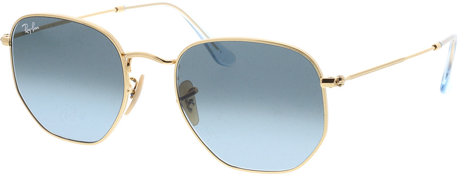 Picture of glasses model Ray-Ban Hexagonal Flat Lenses RB3548N 91233M 54-21
