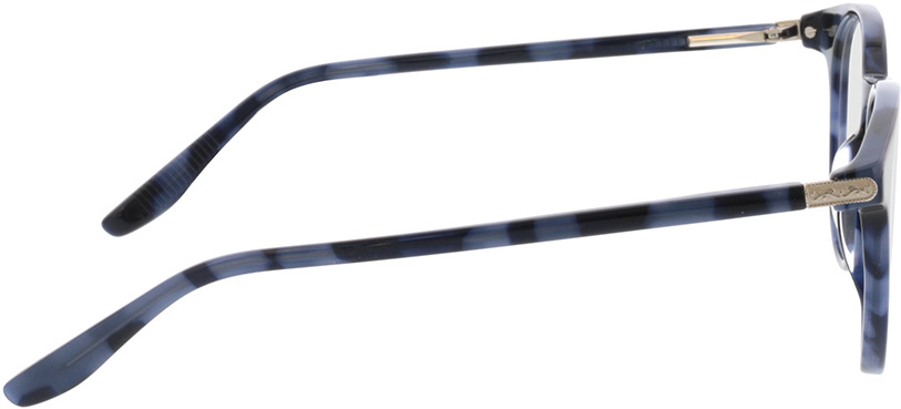 Picture of glasses model Viola-blau-meliert in angle 90