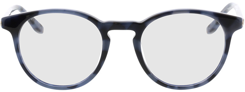 Picture of glasses model Viola-blau-meliert in angle 0