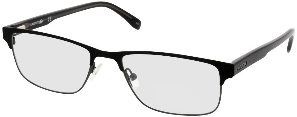 Picture of glasses model Lacoste L2217 001 54-17 in angle 330