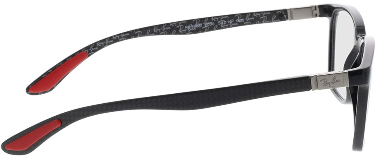 Picture of glasses model Ray-Ban RX8906 2000 54-19 in angle 90