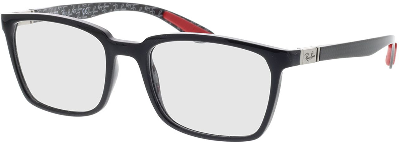 Picture of glasses model Ray-Ban RX8906 2000 54-19 in angle 330