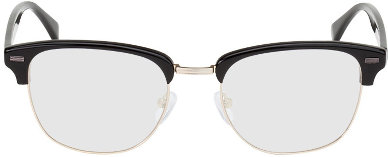 Picture of glasses model Houston-schwarz/gold in angle 0