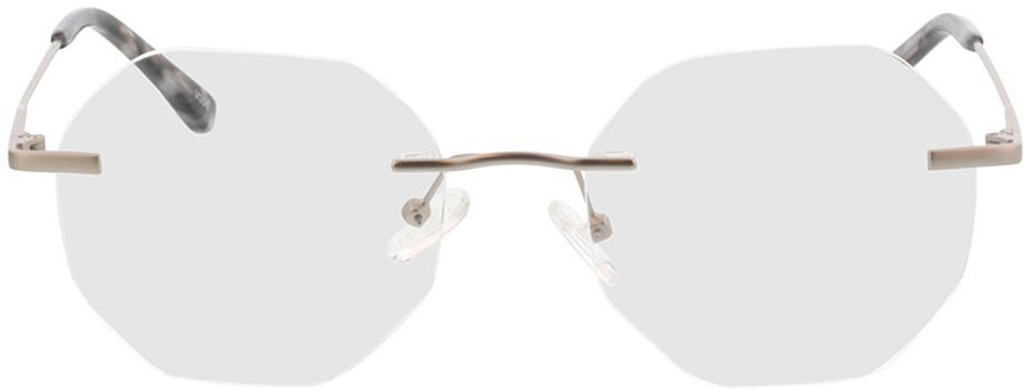 Picture of glasses model Ebro-silber in angle 0