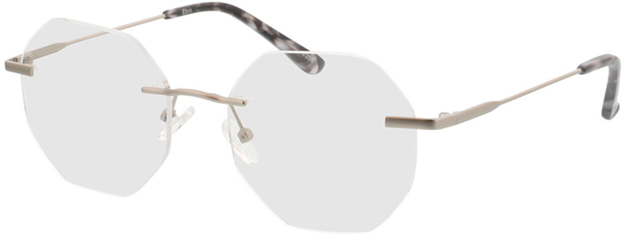 Picture of glasses model Ebro-silber in angle 330