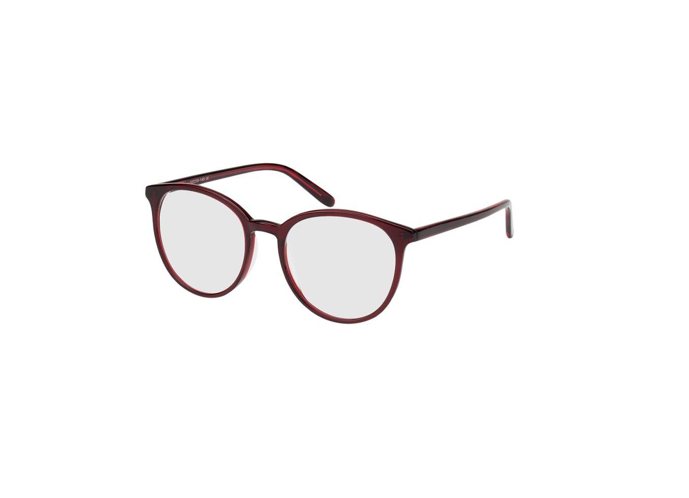 3721-singlevision-0000 New York-rot Gleitsichtbrille, Vollrand, Rund Brille24 Collection