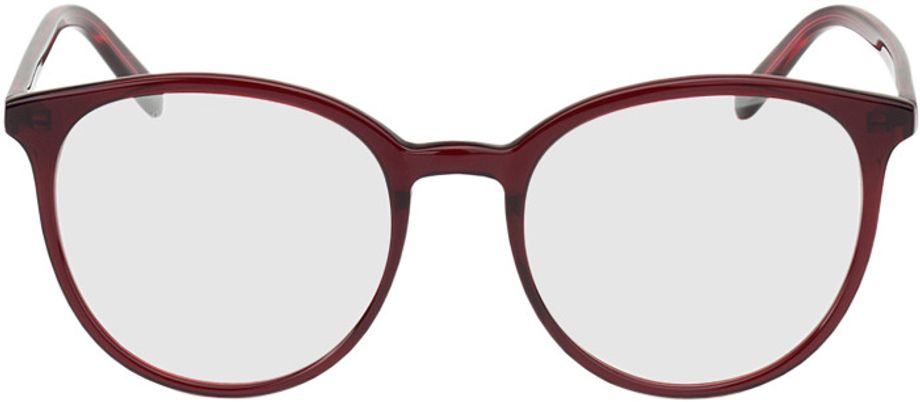 Picture of glasses model New York-rot in angle 0