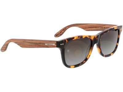Brille Wood Fellas Sunglasses Plassenburg zebrano/havana 53-18