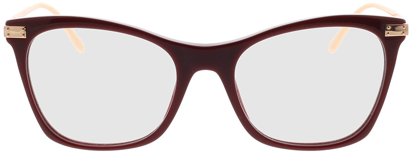 Picture of glasses model Dolce&Gabbana DG3331 3091 52-18 in angle 0