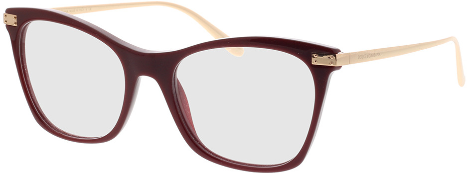 Picture of glasses model Dolce&Gabbana DG3331 3091 52-18 in angle 330
