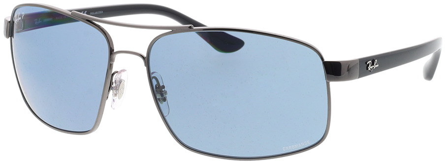 Picture of glasses model Ray-Ban RB3604CH 004/BA 62-15 in angle 330