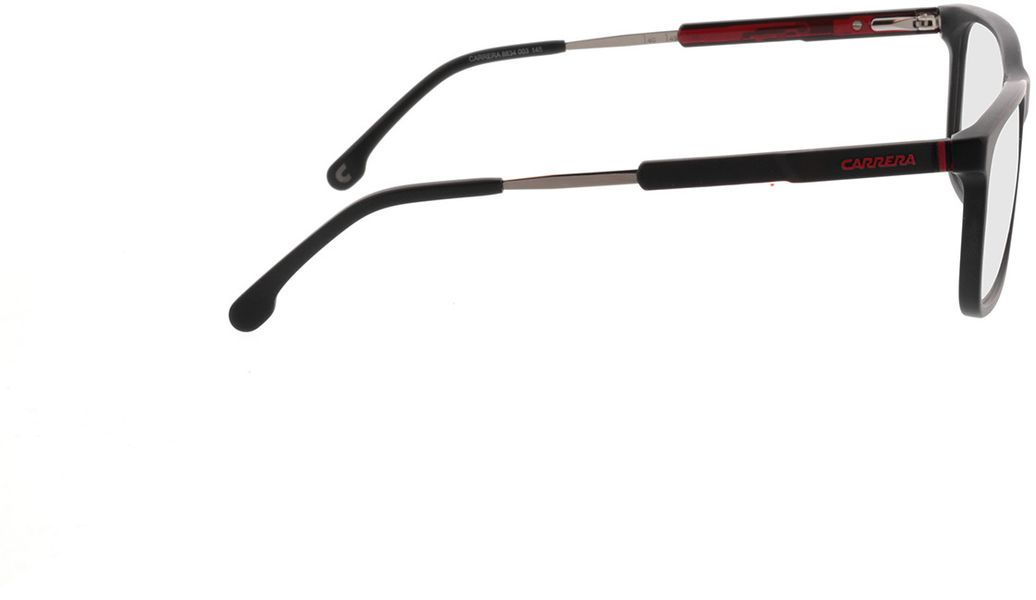 Picture of glasses model Carrera 8834 003 56-17 in angle 90