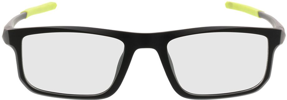 Picture of glasses model Baltimore-black-green in angle 0