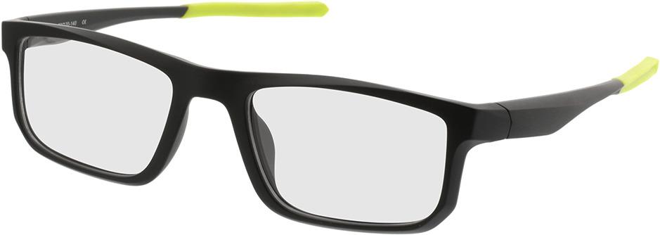 Picture of glasses model Baltimore-mattschwarz/grün in angle 330