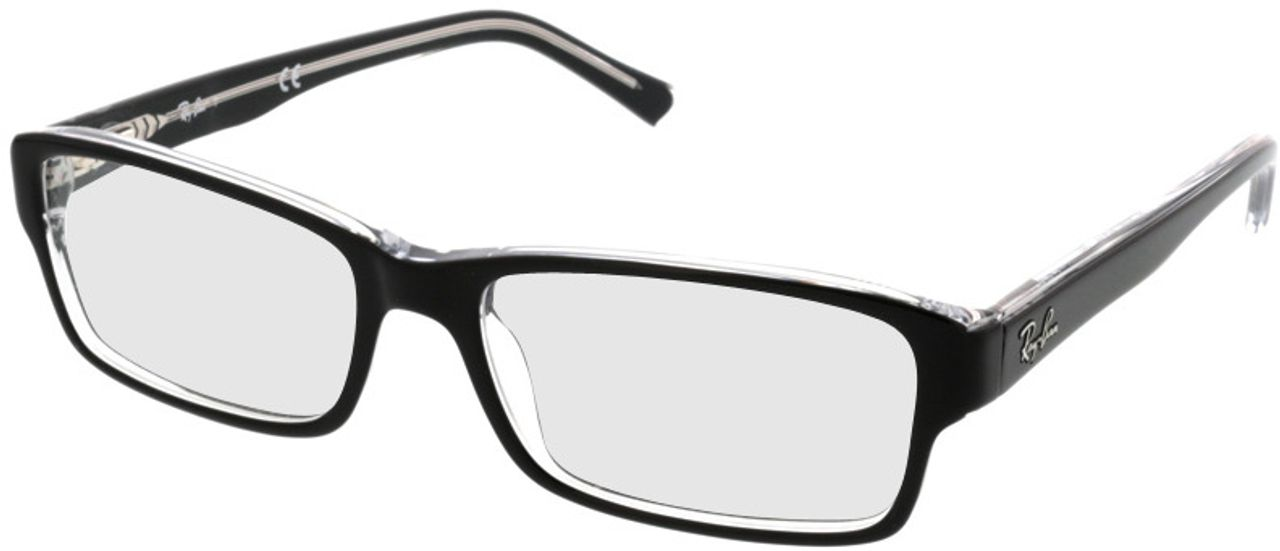 Picture of glasses model Ray-Ban RX5169 2034 52-16 in angle 330