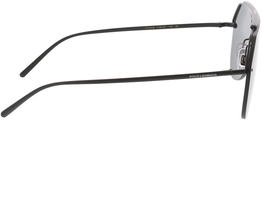 Picture of glasses model Dolce&Gabbana DG2213 110687 34 134-0 in angle 90
