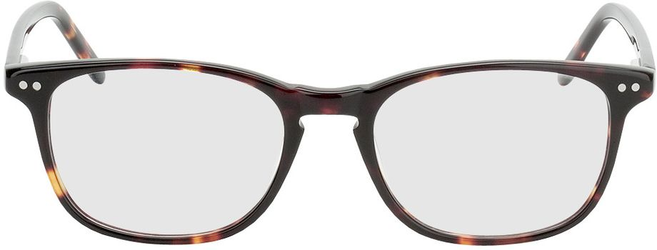 Picture of glasses model Avignon-brown-woodenoptic in angle 0