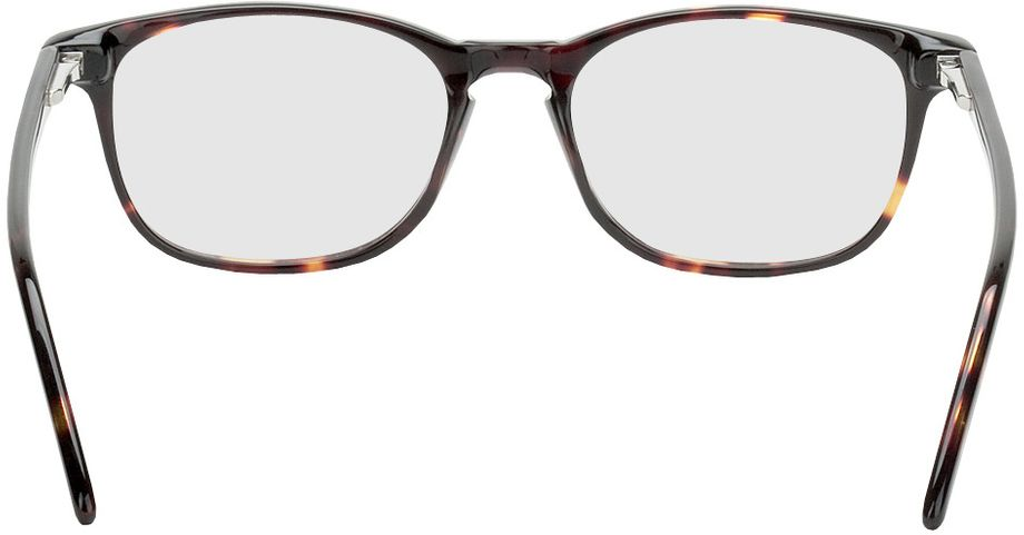 Picture of glasses model Avignon-brown-woodenoptic in angle 180