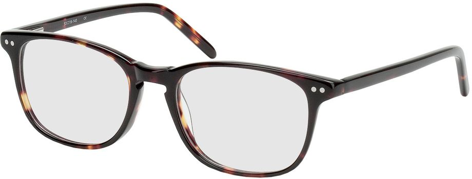 Picture of glasses model Avignon-brown-woodenoptic in angle 330