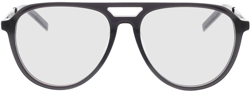 Picture of glasses model Hugo HG 1093 KB7 55-16 in angle 0