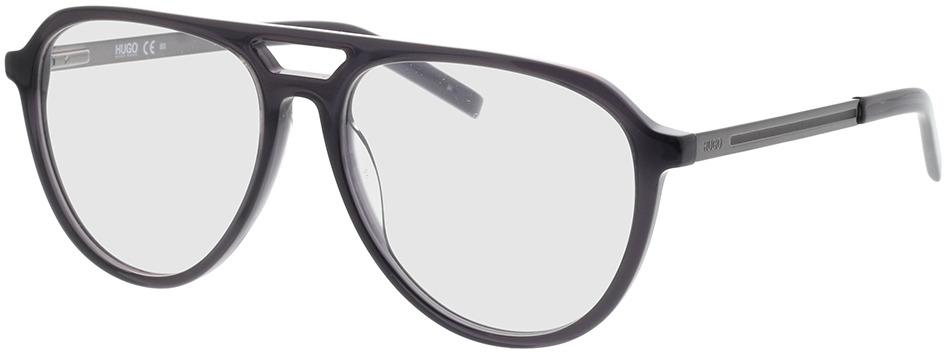 Picture of glasses model Hugo HG 1093 KB7 55-16 in angle 330