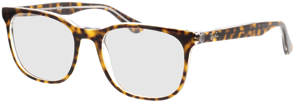 Picture of glasses model Ray-Ban RX5369 5082 52-18 in angle 330
